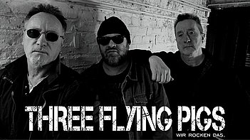 Three Flying Pigs